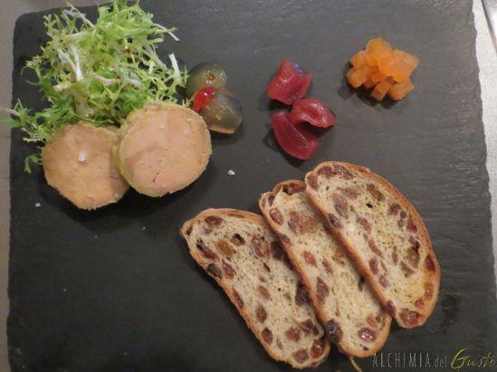 Foie gras, mostarde e pan brioche