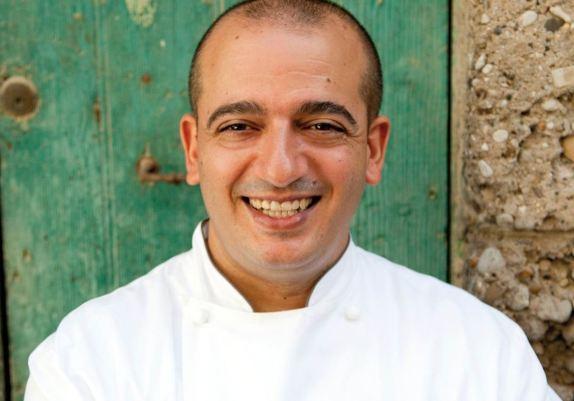 Lo chef Pino Cuttaia