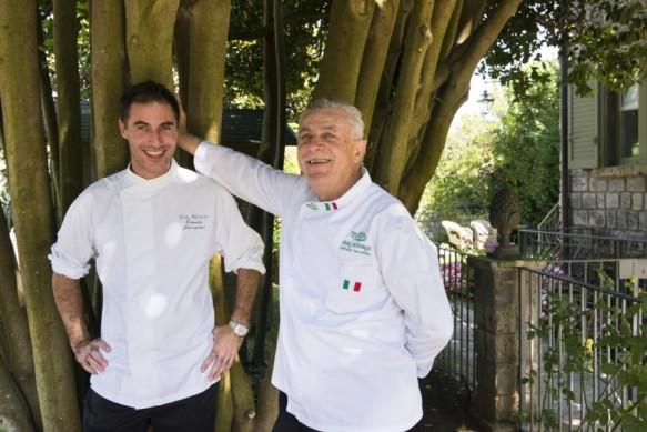 Dal Ristorante: Alfonso ed Ernesto Iaccarino