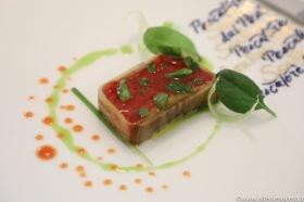 Viaggiatore Gourmet: Composta di pomodoro e melanzane con basilico fresco e olio toscano